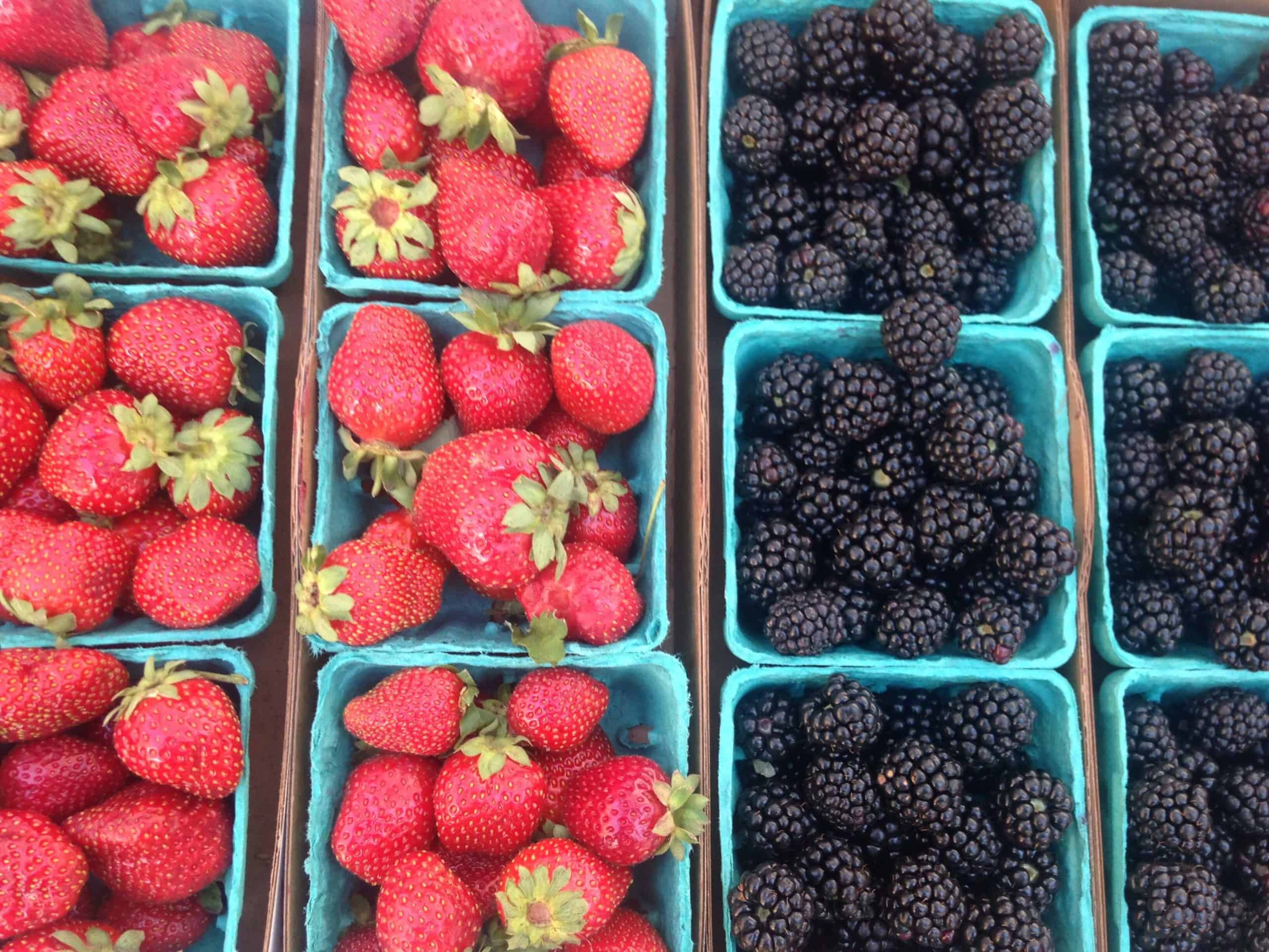 assorted berries sort through to go further with food