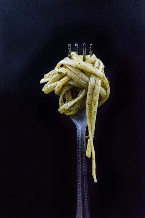 carbs on a fork to feed your mind