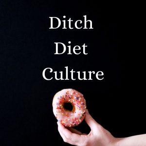 ditch diet culture with doughnut