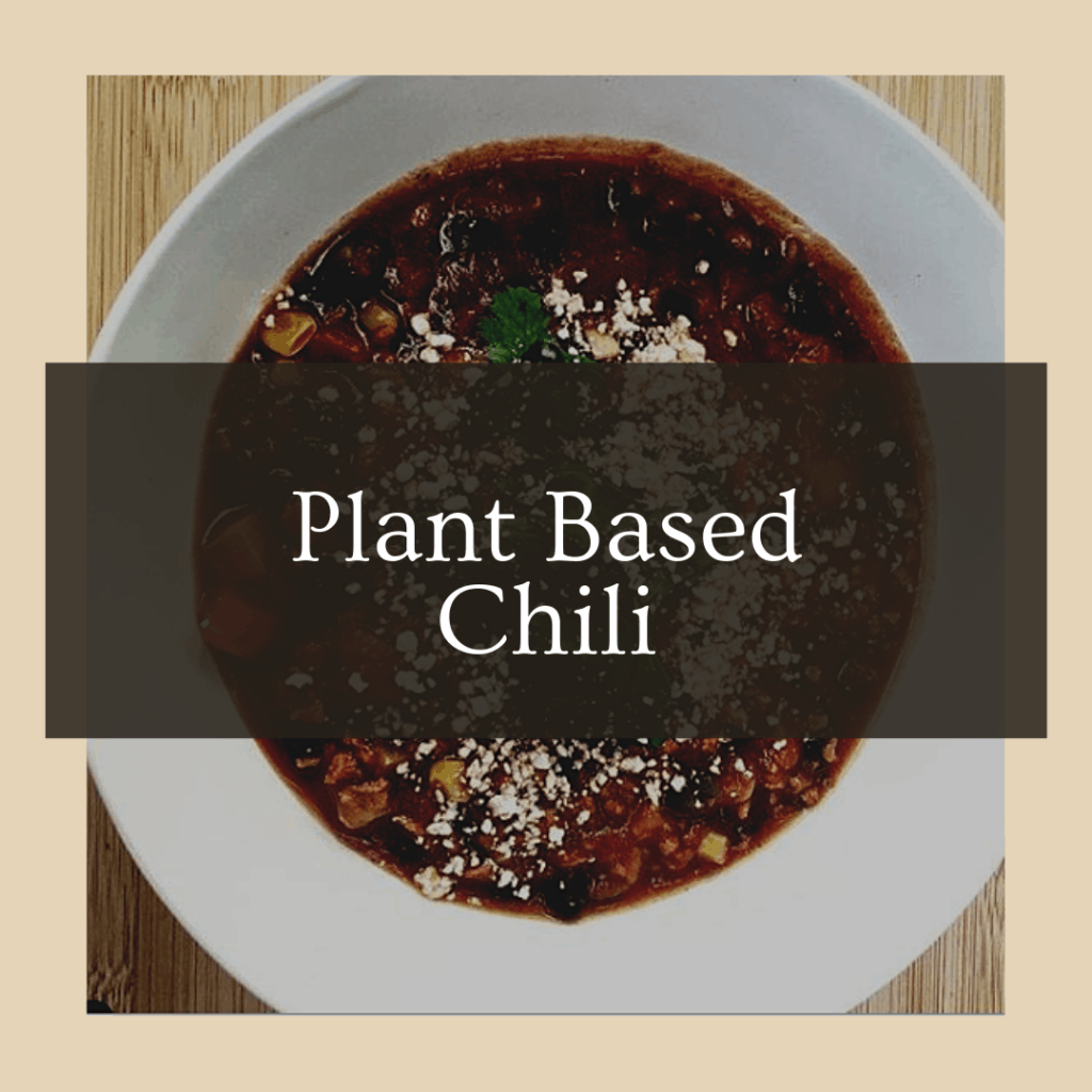 vegan crock pot chili made from plants