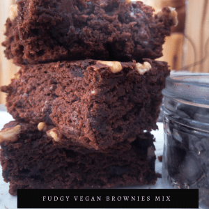Fudgy Vegan Brownies Mix
