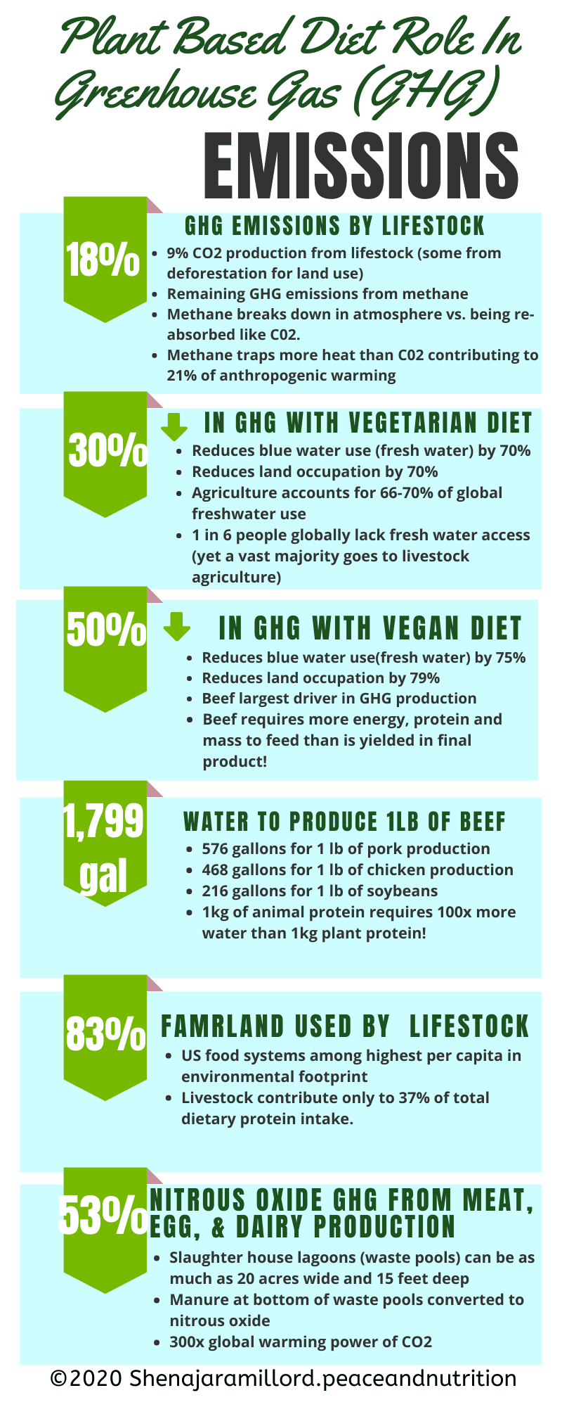 Eat for Life Sustainability Infographic