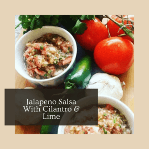 Jalapeno Salsa with Cilantro and Lime