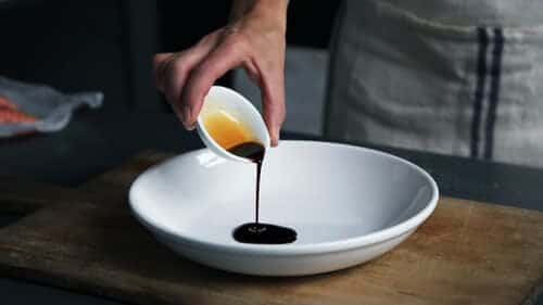 balsamic drizzle