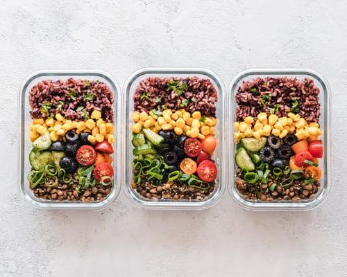 pre prepped salads