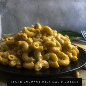 Coconut Milk Mac and Cheese