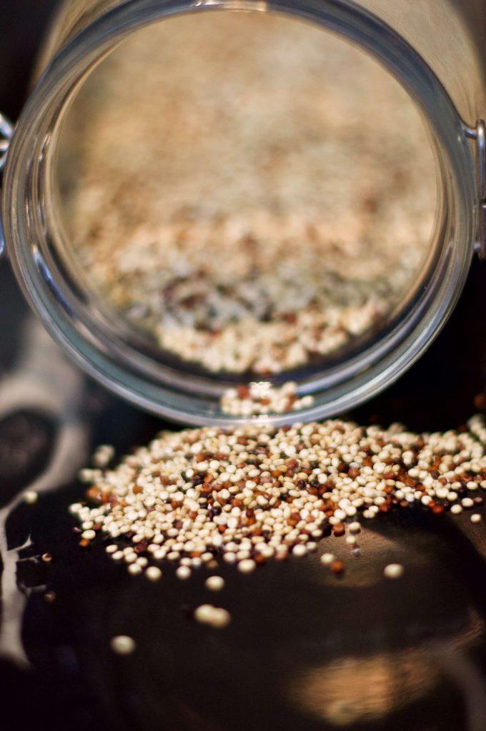 Spilled Quinoa