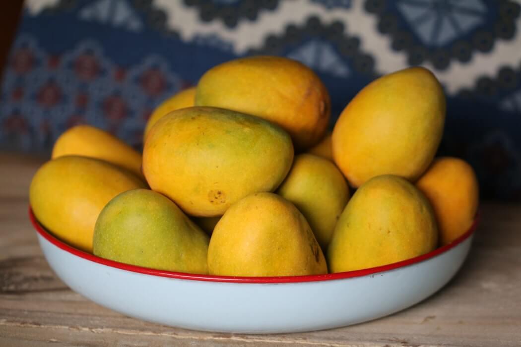 Mangos in a Dish