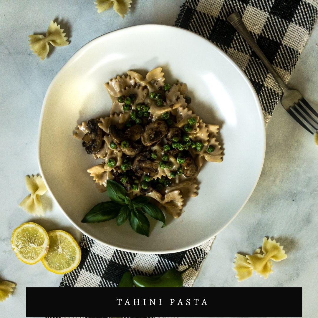 Creamy Tahini Pasa Recipe