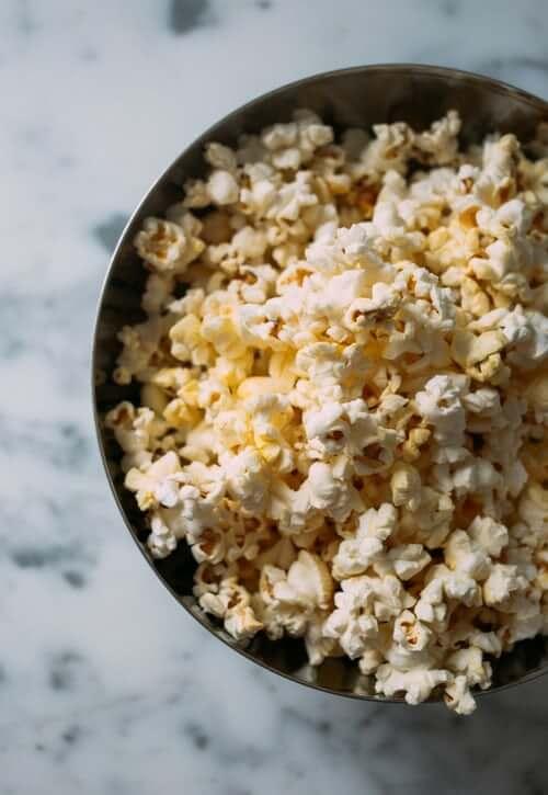 Popcorn in Dish