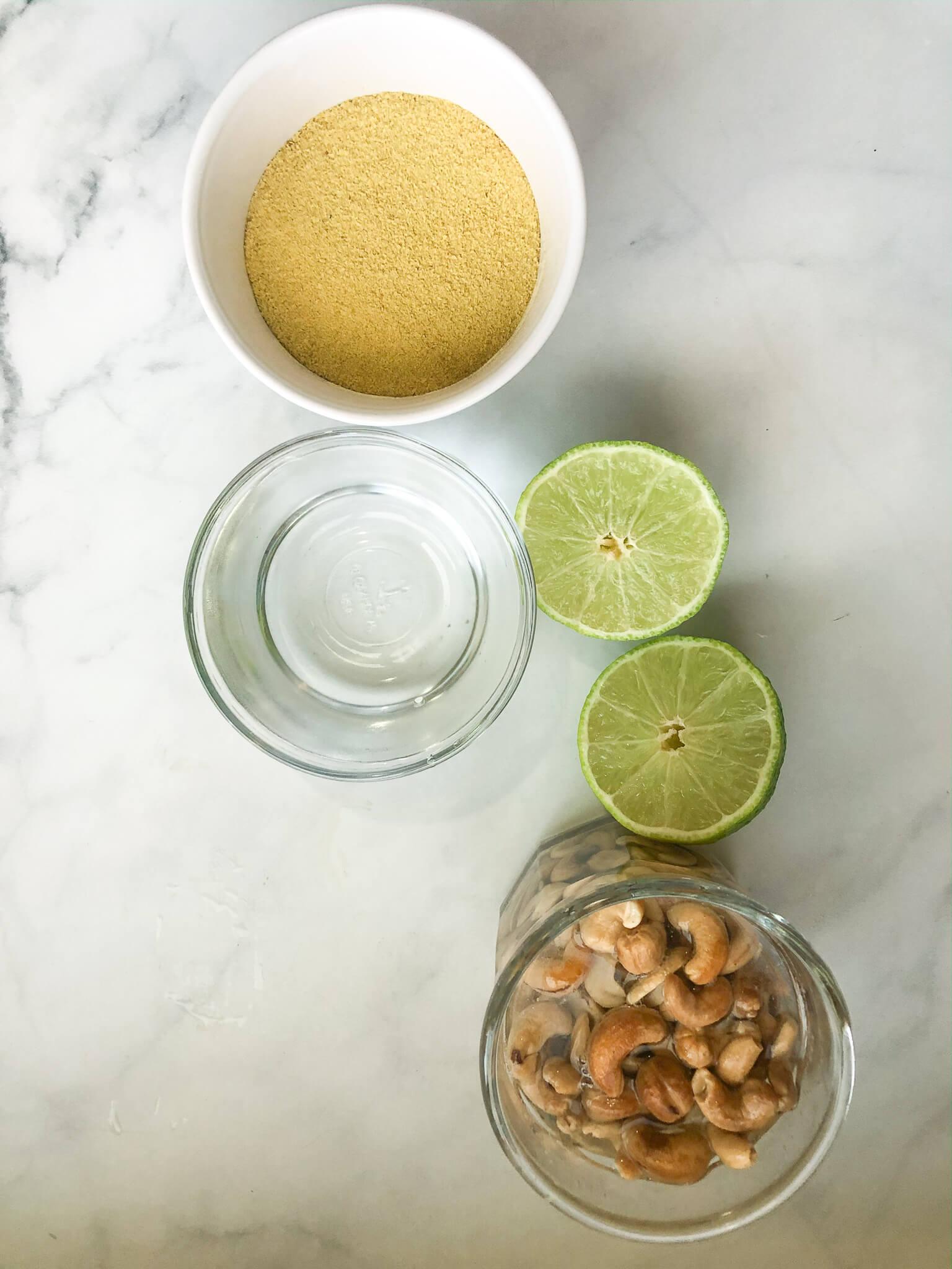 Nutritional Yeast Sauce Ingredients