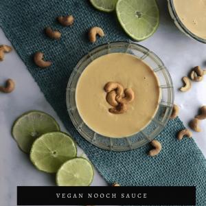 Nooch Sauce Recipe