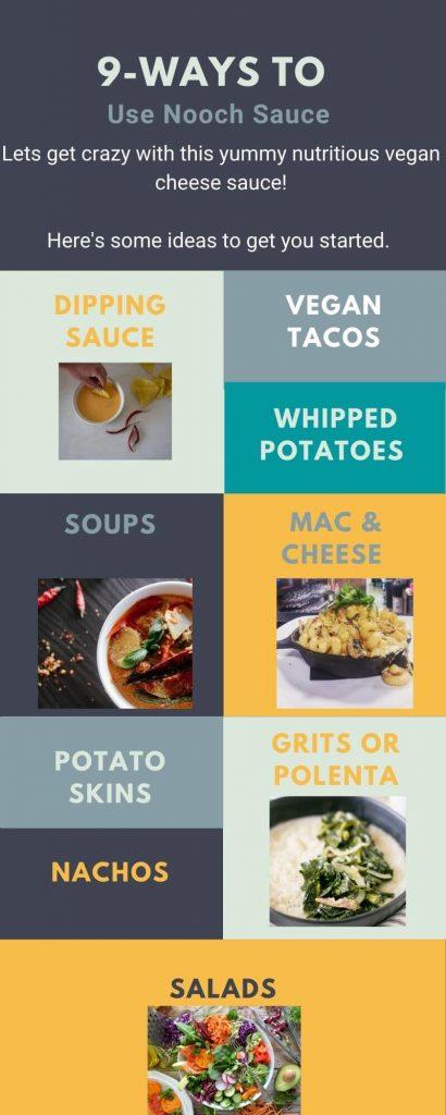 Ways to Use Nooch Sauce