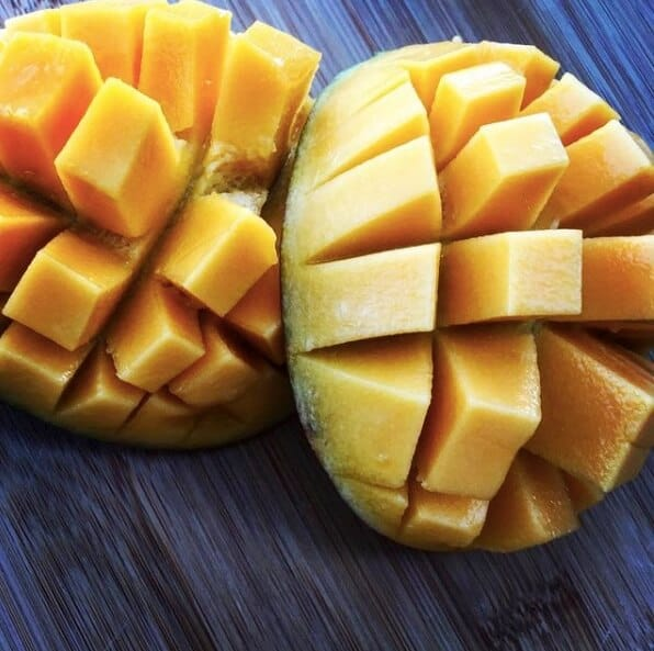 Cut Mangos