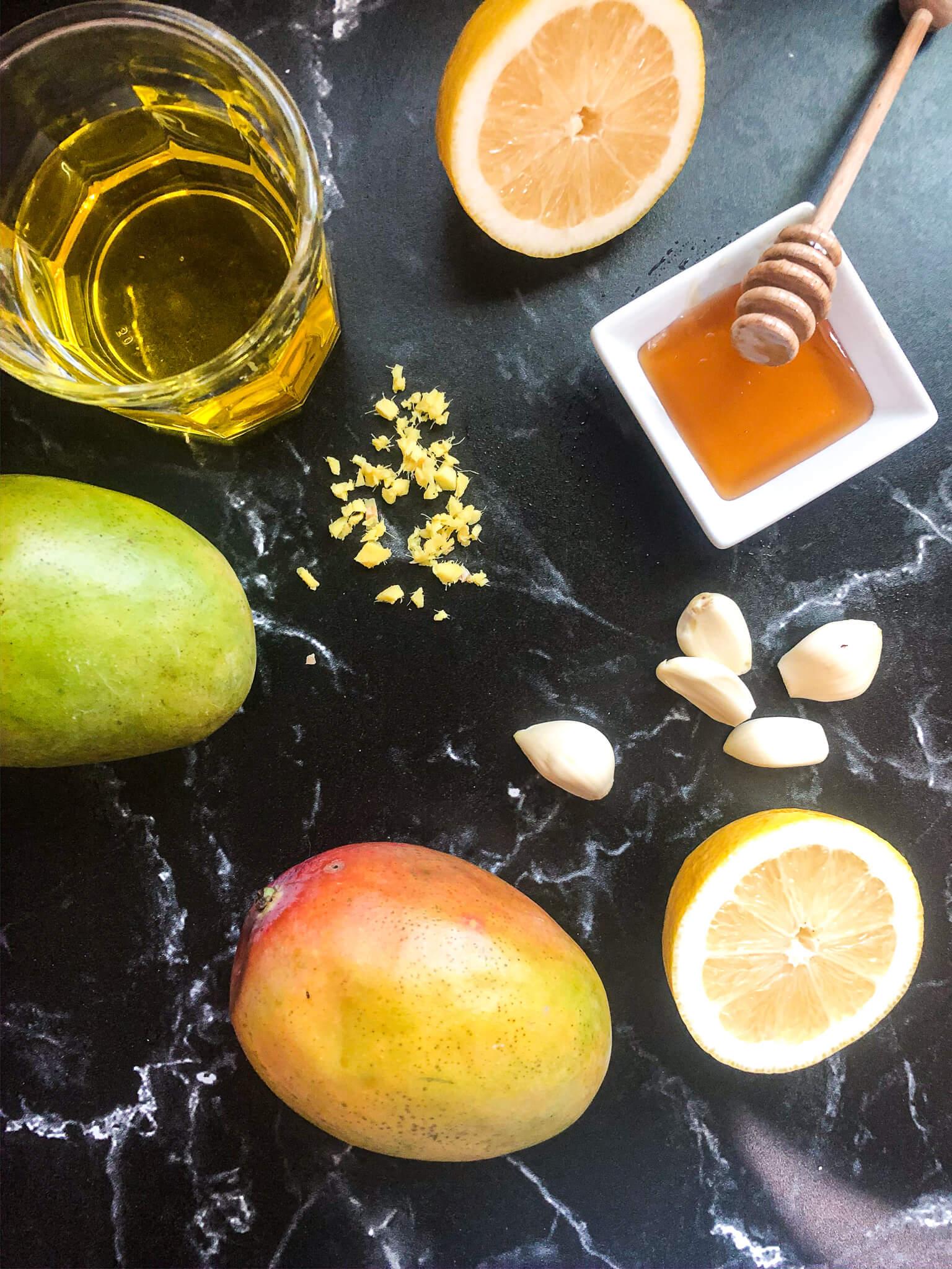 Mango Dressing Ingredients