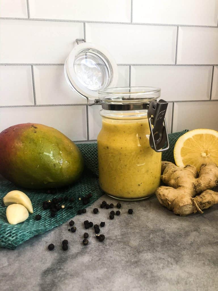 Mango Dressing In Jar