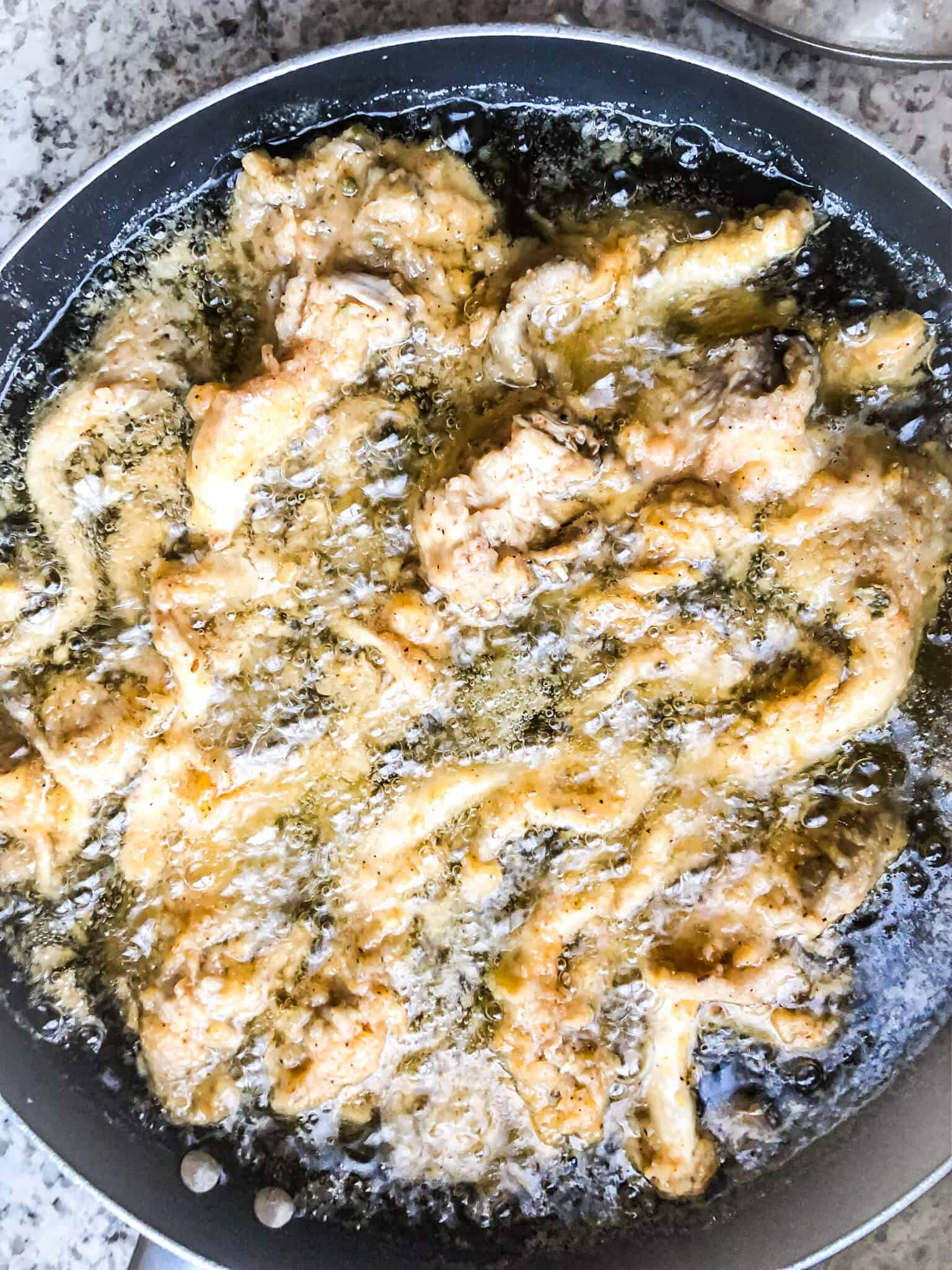 Fried Oyster Mushrooms