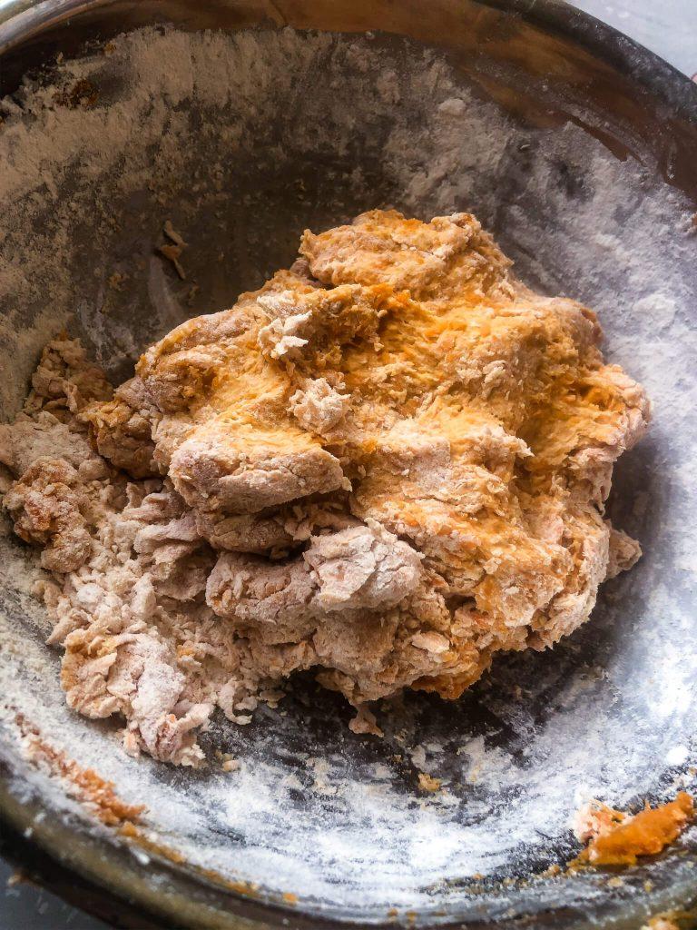 Sweet Potato Gnocchi dough