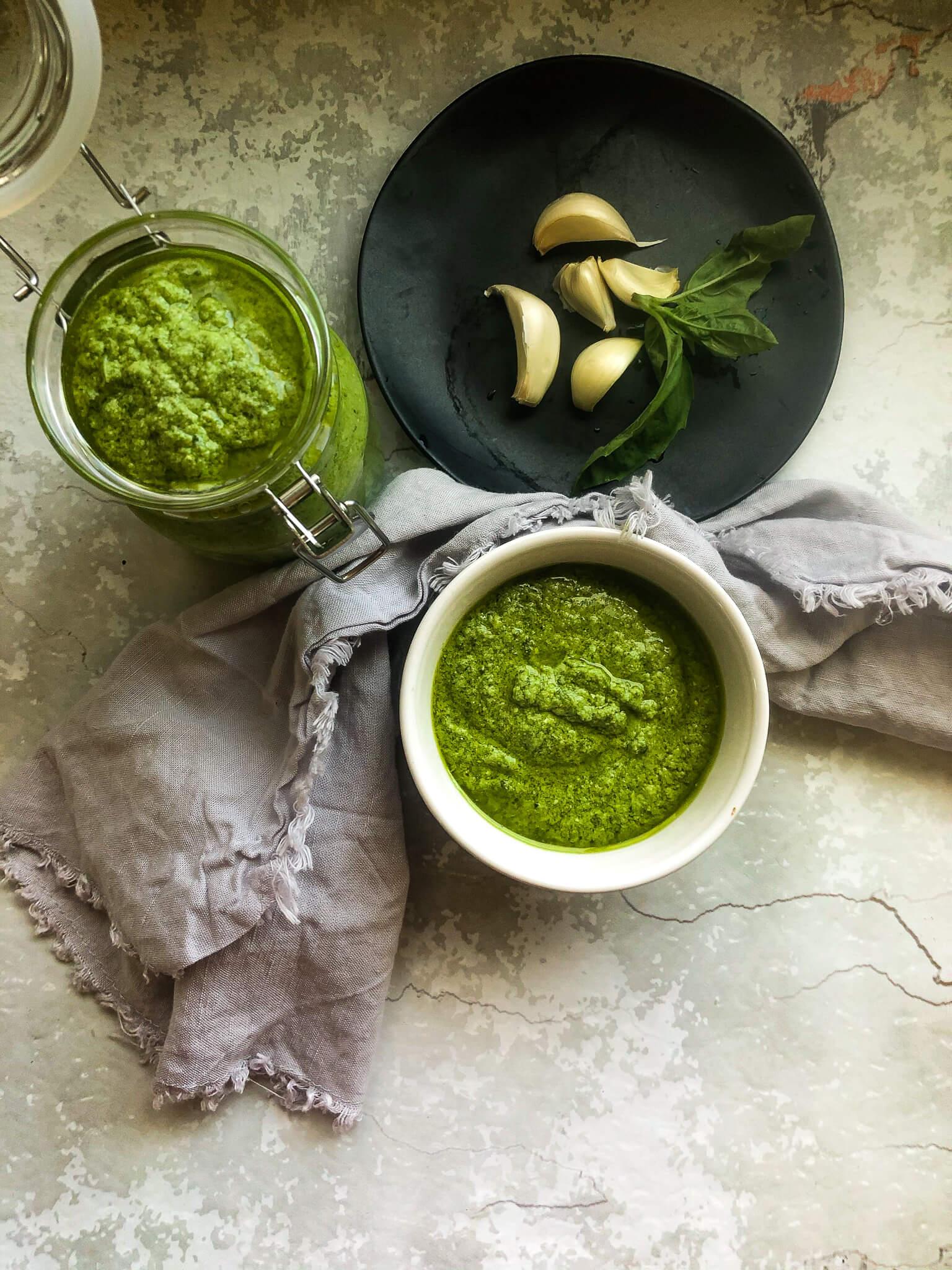 Store Artichoke Pesto Sauce for Later Use