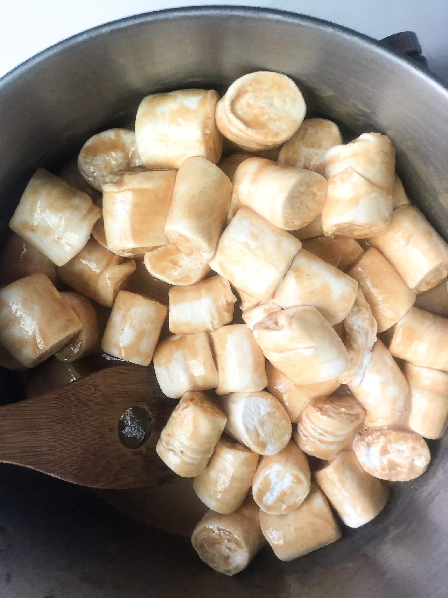 Vegan Marshmallows In Pan